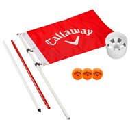 Callaway Closest To The Pin Game Flagpole & Cup Set Putting Aids