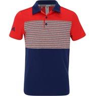 Adidas Engineered Stripe Polo Shirt