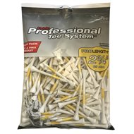 "Pride Prolength Plus PTS Yellow 2 3/4"" 175 Count Golf Tees"