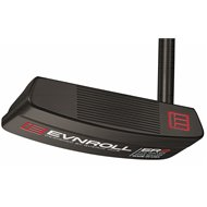 Evnroll ER2 Black Midblade Gravity Grip Putter