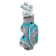 Tour Edge Lady Edge Turquoise/White Standard Club Set