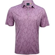 Greg Norman Leaf Print Shirt