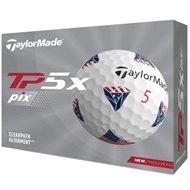 TaylorMade Tp5x Pix 2.0 USA Golf Ball