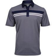 Callaway Yarn-Dyed Birdseye Color Block Shirt
