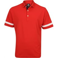 FootJoy Stretch Pique Sleeve Band Solid Previous Season Apparel Style Shirt
