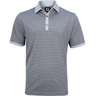 FootJoy Lisle Feeder Solid Trim Previous Season Apparel Style Shirt