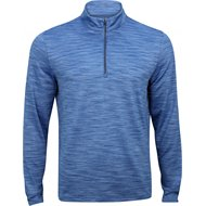 Greg Norman Heathered Mesh ¼ Zip Mock Outerwear