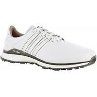 Adidas TOUR 360 XT-SL 2 Spikeless Golf Shoes - White/Dark Silver Metallic - Size: 9.5 SpikelessAdidas TOUR 360 XT-SL 2 Spikeless