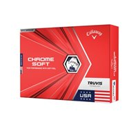 Callaway Chrome Soft Truvis USA Golf Ball