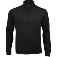 Greg Norman ¼ Zip Stretch Jacquard Mock Outerwear