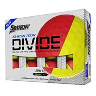 Srixon Q-Star Tour Divide Red/Yellow Golf Ball