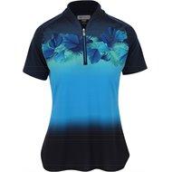 Greg Norman Sunset Zip Shirt