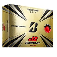 Bridgestone E12 Contact Matte Red Golf Ball
