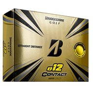 Bridgestone E12 Contact Matte Yellow Golf Ball