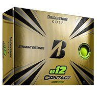Bridgestone E12 Contact Matte Green Golf Ball