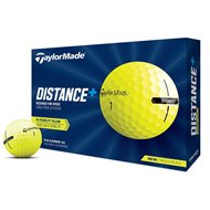 TaylorMade Distance+ Yellow Golf Ball