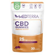 Medterra Immune Boost Gummies - Elderberry CBD