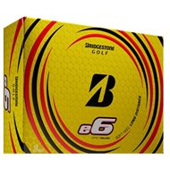 Bridgestone E6 2021 Yellow Golf Ball