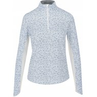 Callaway Long Sleeve Sun Protection With Floral Print Shirt