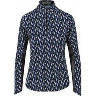 Callaway Long Sleeve Sun Protection With Hummingbird Print Shirt