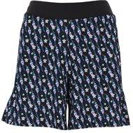 "Callaway 18"" Hummingbird Print Culotte Shorts"