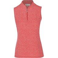 Greg Norman Agave Sleeveless Zip Shirt
