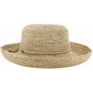 Dorfman Pacific Scala Raffia Collection Alessandra Golf Hat