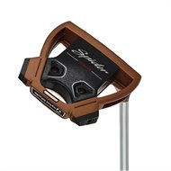 """TaylorMade Custom Spider Tour Copper/White """"No Line"""" Putter"""