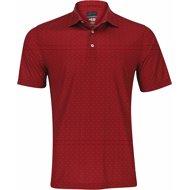 Greg Norman ML75 Microlux 2Below Tee Time Print Shirt