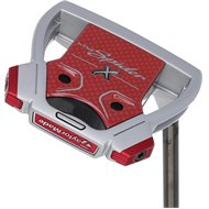 TaylorMade Myspider X Silver/Red/White Putter